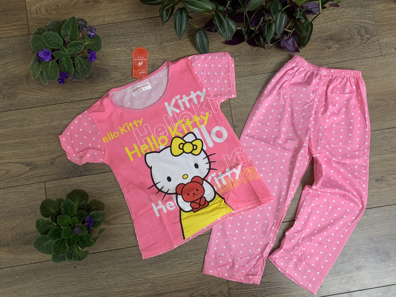 Детские пижамы для девочек 4-8 лет