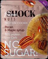 Протеиновое печенье FitnesSHOCK Nuts Пекан-Кленовый сироп (40 грамм)