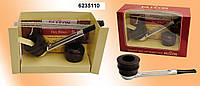 Трубка Falcon 6235110 прямая 2 чашки, 3 ерша, 25 фильтр. колец, в подар. короб