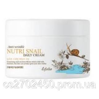 Питательный антивозрастной улиточный крем Esfolio Nutri Snail Daily Cream
