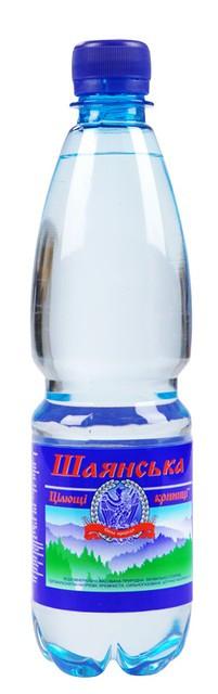 Вода мінеральна газована 0,5л Шаянська