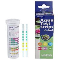 Експрес-тест Velda Aqua Test Strips 6в1 (50 смужок)