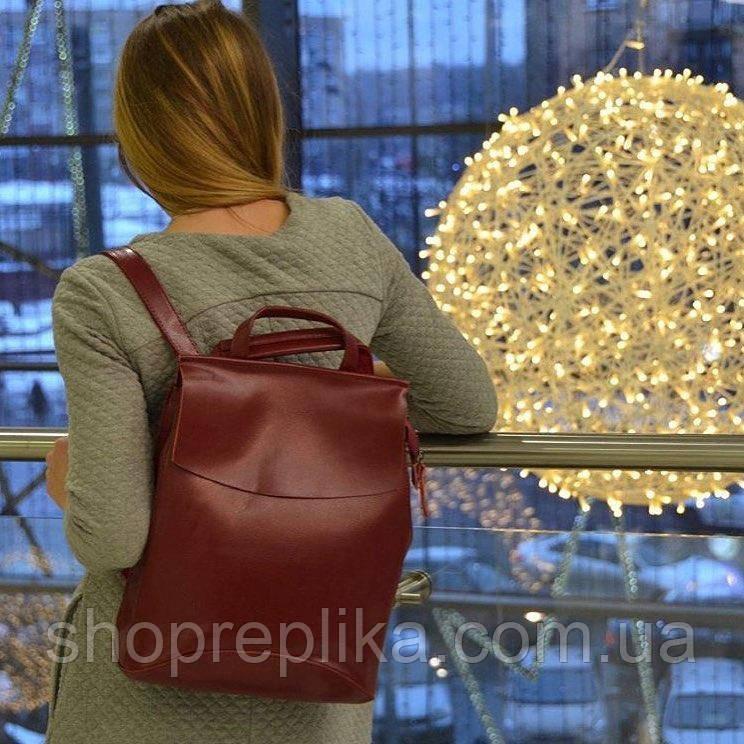 Шкіра рюкзак сумка трансформер ss258454 В кольорі , Натуральна шкіра