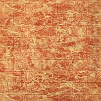3д панель стеновой декоративный кирпич Яркий Мрамор (самоклеющиеся 3d панели для стен оригинал) 700x770x5 мм