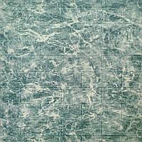 3д панель стеновой декоративный кирпич Бирюза Мрамор (самоклеющиеся 3d панели для стен оригинал) 700x770x5 мм