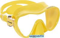 Подводная маска для детей Cressi Sub F1 Junior, жёлтая