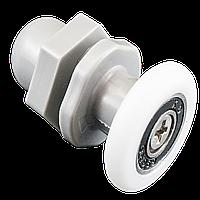 Ролик душевой кабины и душевого бокса , пластиковый ,одинарный, серый (В-27 А) 19 мм