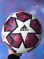 Футбольный мяч для игры в футбол спортивный игровой Adidas Finale Madrid 2019 размер 5