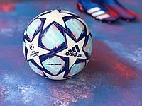 Футбольный мяч для игры в футбол спортивный игровой  Adidas Champions League адидас лига чемпионов размер 5