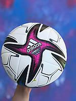 Футбольный мяч для игры в футбол спортивный игровой  Футбольный мяч Adidas Conext 21