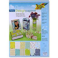"""Набор дизайнерской бумаги Design Paper Party """"Вечеринка"""", 11149, Folia"""