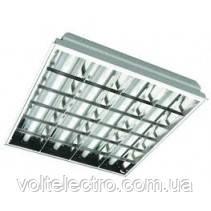 Світильник растр. вбудований. 4х18 600x600 Master-Light