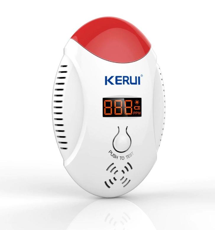 Бездротовий датчик чадного газу Kerui KR-CD17