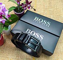 Мужской кожаный ремень Hugo Boss