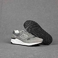 Мужские кроссовки New Balance 999 (серые) О10490 крутая спортивная качественная обувь