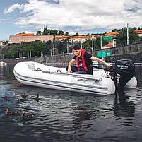 Двигун для човна Tohatsu, 9.8 лс, 4 тактний, MFS9.8B S- підвісний двигун для яхт і рибальських човнів, фото 4