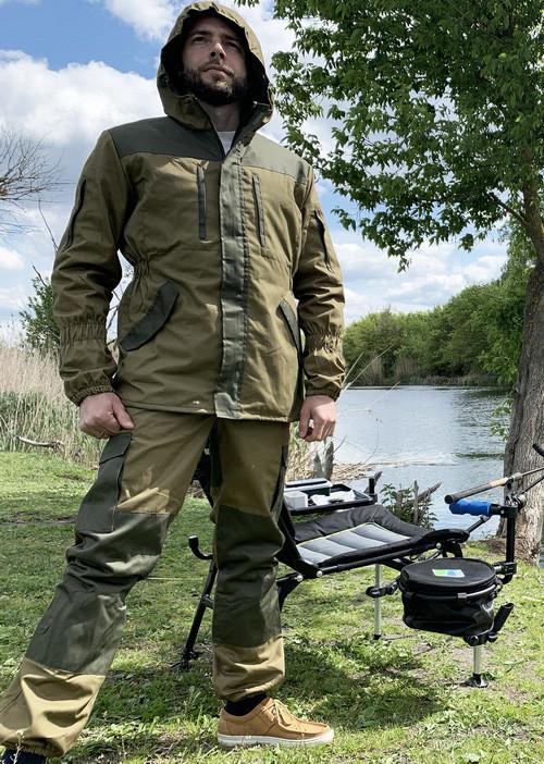 """Костюм для рыбалки и охоты Mavens """"Горка Хаки"""", камуфляж, размер 58 (014-0001)"""