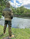 """Костюм для рыбалки и охоты Mavens """"Горка Хаки"""", камуфляж, размер 58 (014-0001), фото 2"""
