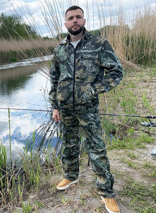 """Костюм для рыбалки и охоты Mavens """"Дуб"""", камуфляж, размер 54 (014-0005)"""