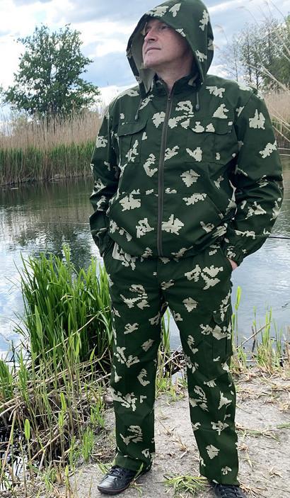 """Костюм для рыбалки и охоты Mavens """"Береза"""", камуфляж, размер 58 (014-0010)"""