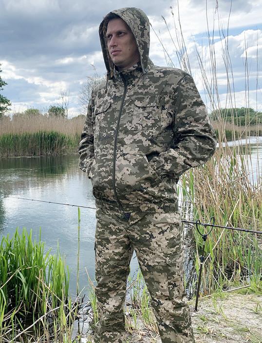 """Костюм для рыбалки и охоты Mavens """"Пиксель Лайт"""", камуфляж, размер 56 (014-0011)"""