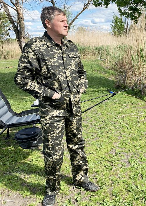 """Камуфляжний костюм Mavens """"Прикордонник"""", для полювання і риболовлі, одяг, розміри 62-64"""