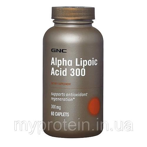 Gnc Альфа-липоевая кислота Alpha-Lipoic Acid 600 mg (60 caps)