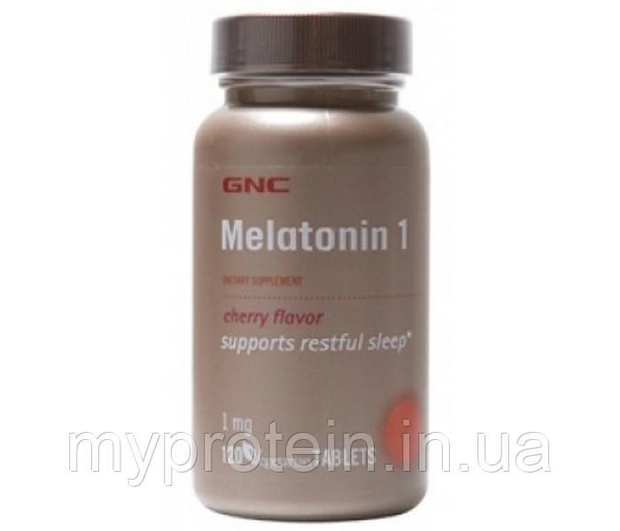 GNC Мелатонин для сна Melatonin 1 (60 tab)