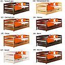 Дитяче ліжко з натуральної деревини буку Нота Плюс Естелла, фото 10