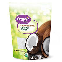 Great Value Organic Unsweetened Coconut Flakes 198g