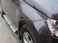 Пороги оригинальные в BMW Style M2 на BYD S6