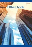 Книга канцелярская А4 в клеточку. 96 листов Gold Brisk