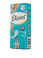 Ежедневные прокладки Discreet Plus Deo Водная лилия, 20 шт.