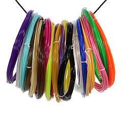 Набір ABS-пластику для 3D-ручки Kaiyiyuan нитка 1,75 mm (20 кольорів по 5 метрів)