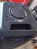 Мобільна колонка SoundMax SM500 5х2 дюйма 2 мікрофона 2000Вт   Портативна акустика з підсвічуванням автономна, фото 3