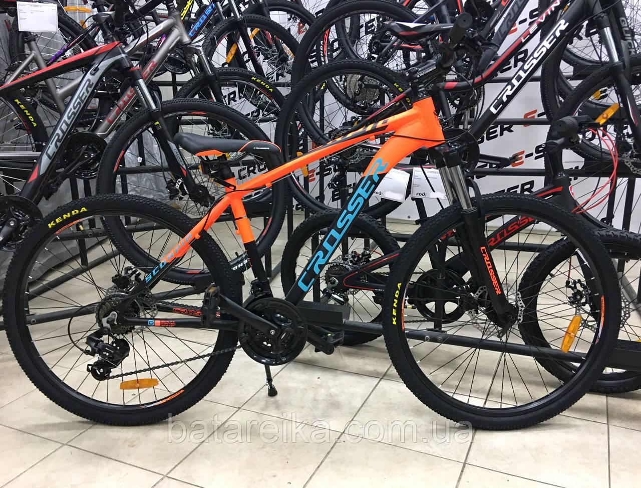 """Электровелосипед E-Crosser Scorpio 29"""" li-ion 13A 36V/500W (рама 17) 2021"""