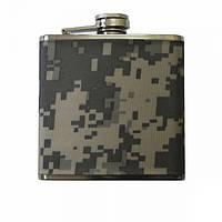 Фляга MIL-TEC Stainless Steel Flask 110 ml ACU