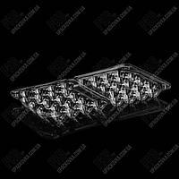 Контейнер с крышкой УК-26 на 20 перепелиных яиц, PET, ПРОЗРАЧНЫЙ, 540 шт/уп,