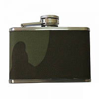 Фляга MIL-TEC Stainless Steel Flask 110 ml Woodland