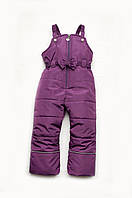 Детские зимние утепленные штаны (комбинезон) для девочки