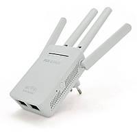 Підсилювач WiFi сигналу з 4-ма вбудованими антенами LV-WR09, живлення 220V, 300Mbps, IEEE 802.11 g / n,