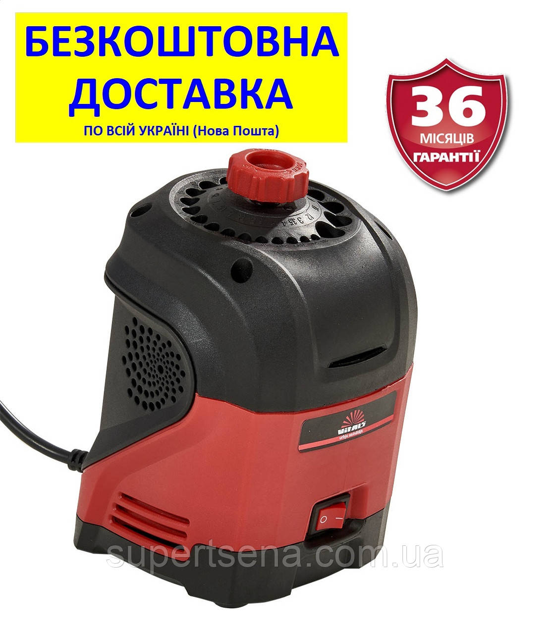 Верстат для заточування свердел Ua 9516JH +БЕЗКОШТОВНА ДОСТАВКА! (95 Вт; 3-12 мм) VITALS, Латвія