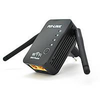 Підсилювач WiFi сигналу з 2-ма вбудованими антенами LV-WR17, живлення 220V, 300Mbps, IEEE 802.11 b / g / n,