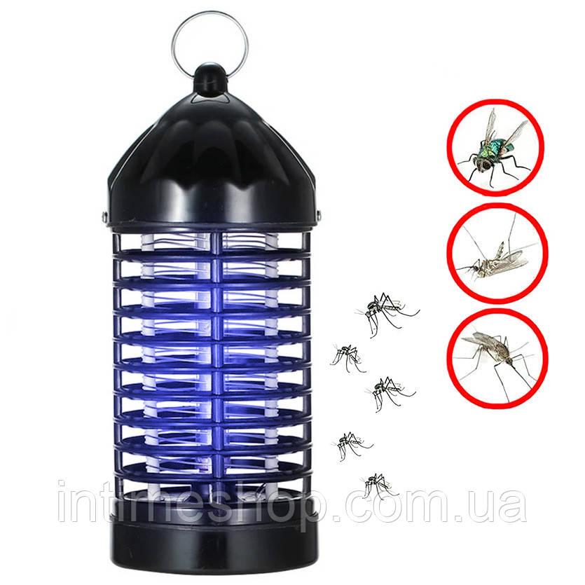 Уничтожитель насекомых Insect killer lamp XL-228 Черный, антимоскитная лампа от комаров (знищувач комах) (TI)