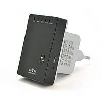 Підсилювач WiFi сигналу з вбудованою антеною LV-WR02, живлення 220V, 300Mbps, IEEE 802.11 b / g / n, 2.4 GHz,