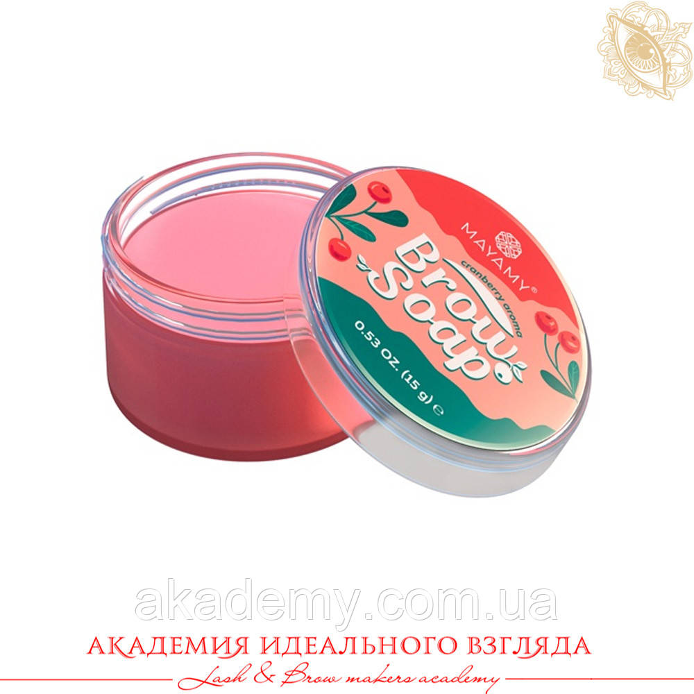 Bronsun / Мило для брів / MAYAMY Brow soap / 15 г