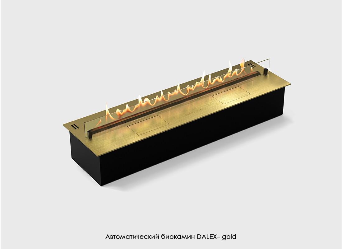 Биокамин автоматический GLOSS FIRE DALEX 1500 - gold