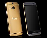 Оригинальный смартфон HTC ONE M7 gold