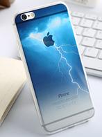 """Премиум силиконовый чехол """"Гроза"""" для Iphone 6 Plus"""