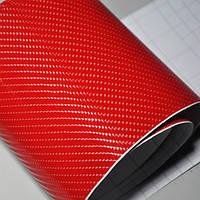 Красная пленка 4d карбон под лаком Catpiano 1,52